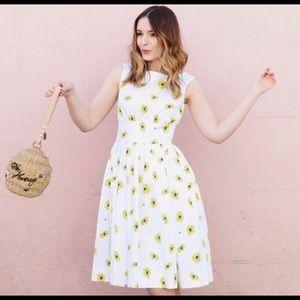 Kate Spade Daisy print dress